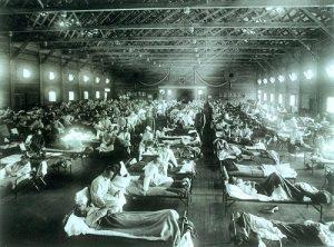 Spanish Flu 1918 Pic